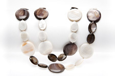 "Perlmuttkette ""Dreams of MotherPearl beachstyle"""