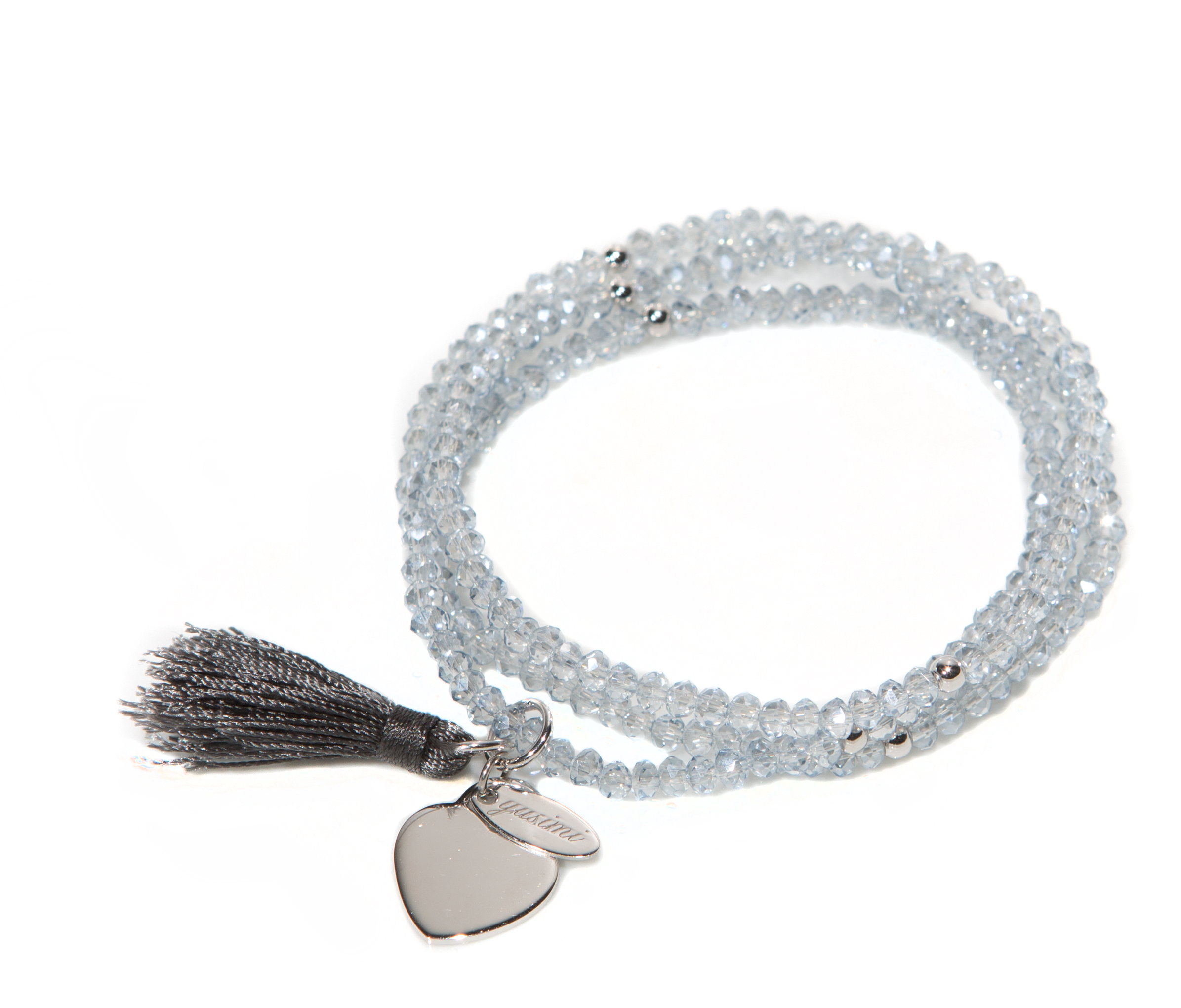 "Kristall Armband ""Love Collection"" silver"